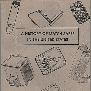 A History of Match Safes in the United States book, by Audrey Sullivan