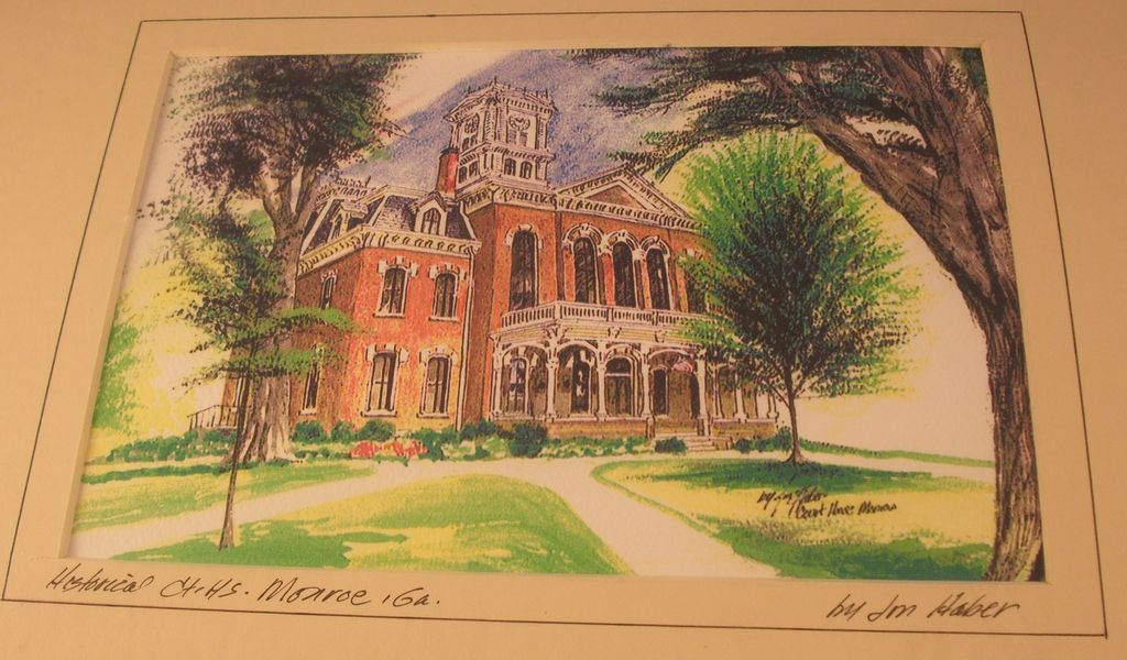 Historic Court House in Monroe, GA by Jon Haber
