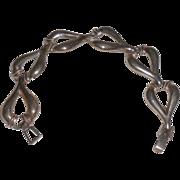 """Sterling Silver Link Bracelet - 8"""""""