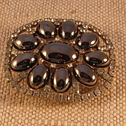 Oval Shaped Belt Buckle by MUSI
