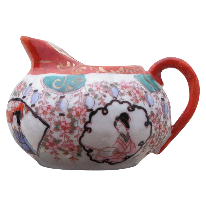 Vintage Asian Small Pitcher or Creamer