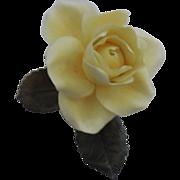 Boehm Rose - Elegance – Yellow - Slightly damaged