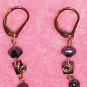 Longer Hematite Earrings