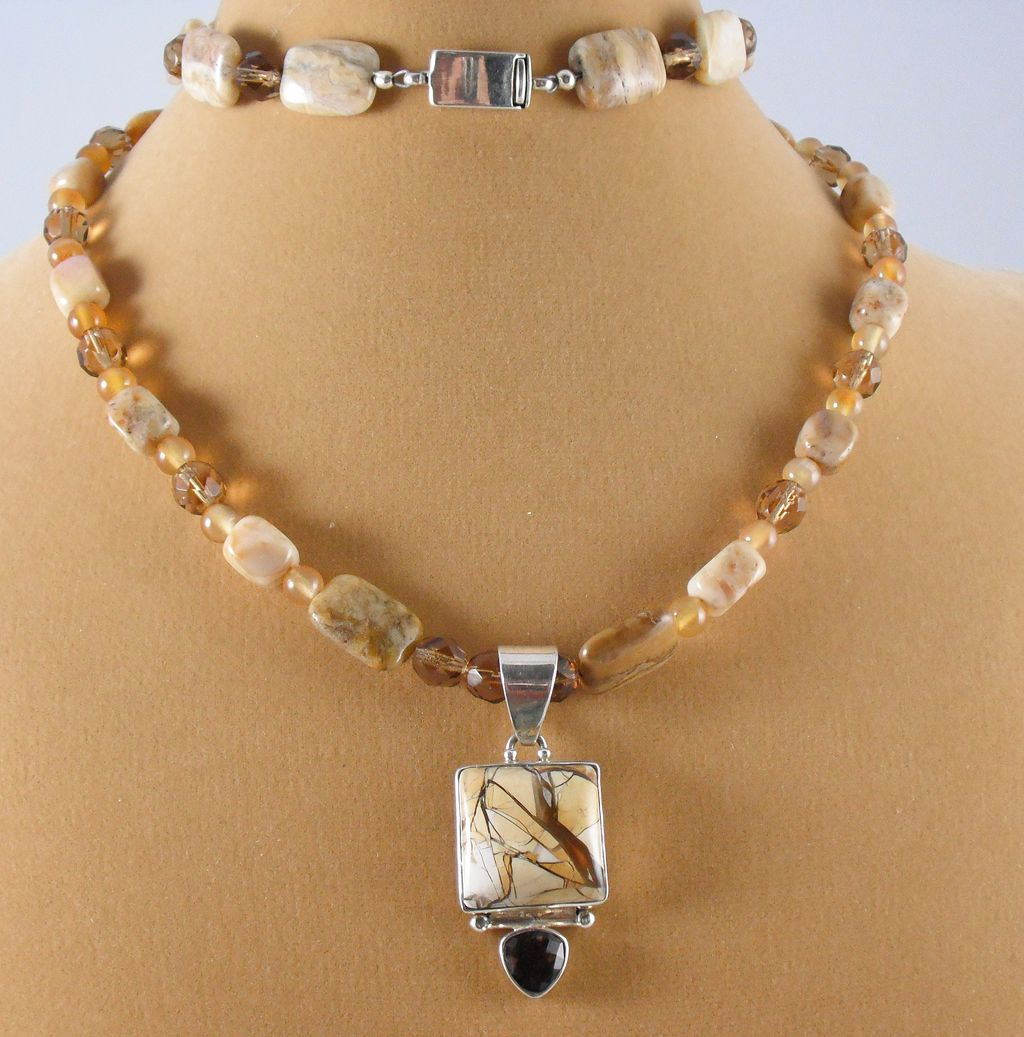 Mookaite Necklace and Pendant