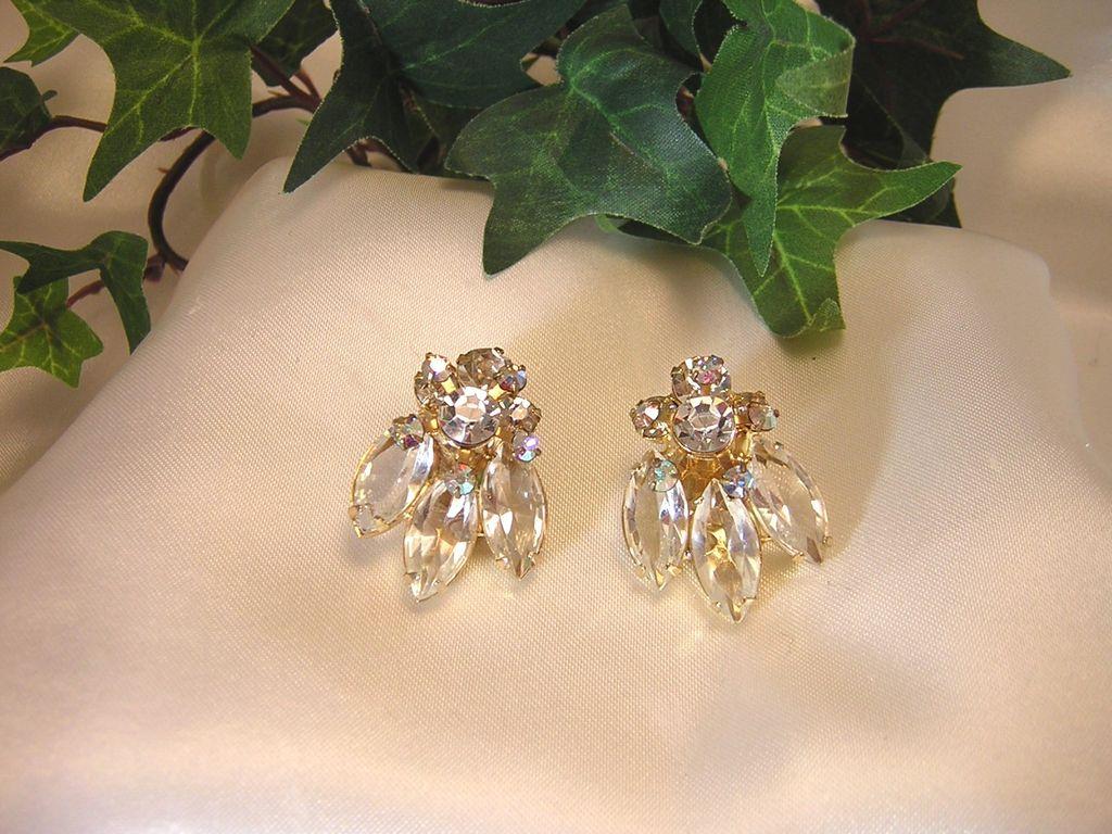 Gorgeous Juliana D&E, Swarovski Crystal Rhinestone Earrings