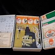 Vintage 1965 Sears Junior Microscope Lab