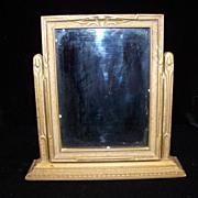 Vintage Wood Art  Deco Picture Frame