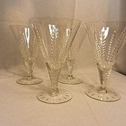 Vintage Cambridge Lexington Wine Glasses