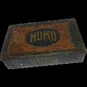 Vintage Early 1900's Humo Cigar Tin