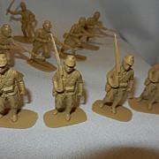 Vintage British AirFix Toy Japanese Soldiers