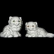 Vintage Goebel Gray Kittens Figurines