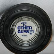 Vintage B. F. Goodrich Lifesaver Radial LR70-15 Tire Ashtray