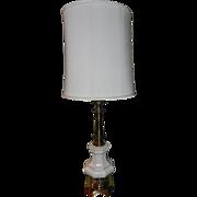 Vintage Stiffel Lamps- Porcelain and Brass