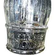 Vintage Dr. Pepper Bottling Company Soda Bottle - Wichita Falls Tx.