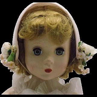 Vintage Maggie Face Bride Amdame Alexander Doll Rosamund bride