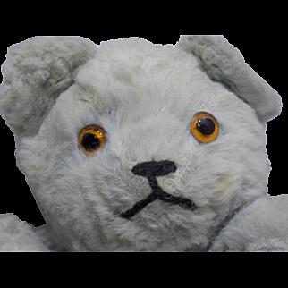 Vintage Mohair Glass Eyes Teddy Bear Muff