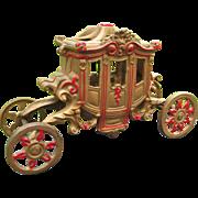 Art Deco La Tessa Carriage, Cinderella Coach, Incense Potpourri