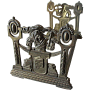Arts & Crafts Expanding Bookends with Renaissance Man & Books