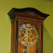 Skeleton Vienna Regulator Clock
