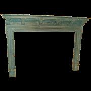 19th c. English Fireplace Mantel