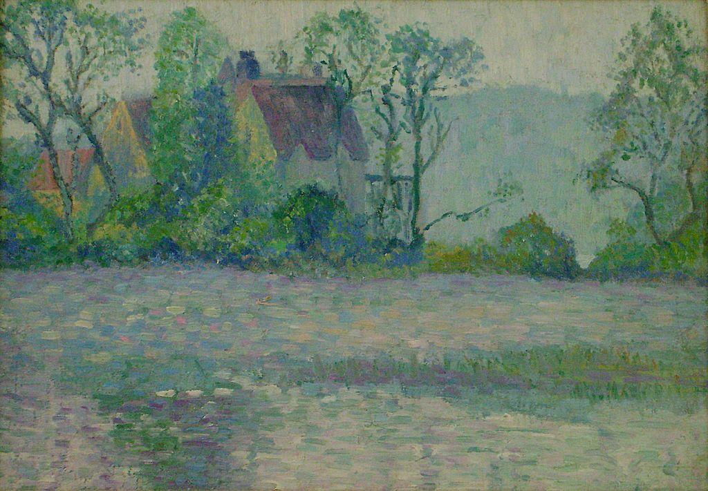 Paul Dougherty Oil Painting European Landscape