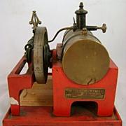 Weeden Electrically Heated Toy Steam Engine No. 648 ca. 1930