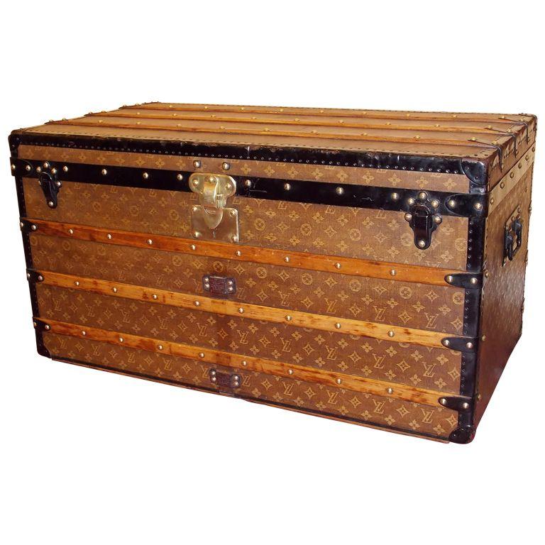 19th c. Louis Vuitton Trunk