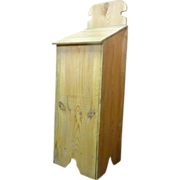 French Antique Pine Bread Bin