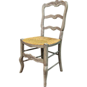19th Century Antique French Provencal Chair