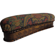 19th Century French Antique Footstool Box