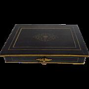 19th Century French Antique Ebony Box