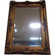 French Vintage Rococo Style Mirror