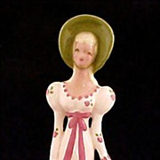 Vintage California Pottery Yona Lady Figurine