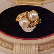 Ladies Ring with Great Design 18KT G.F.