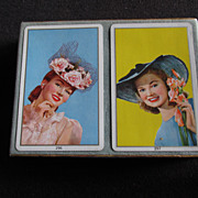 Vintage Congress Playing Cards Lovely Ladies