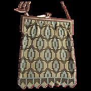 Whiting & Davis Co. Enamel Purse Vintage Handbag Purse