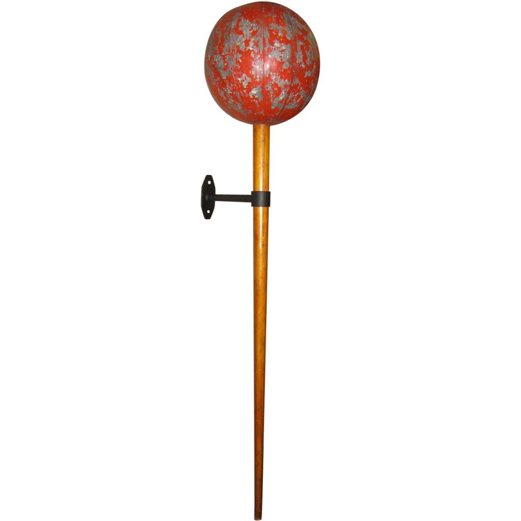 Vintage Magic Wand Large Painted Sideshow Stage Prop
