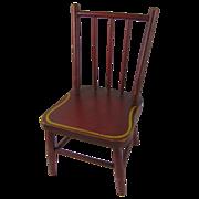 Antique Painted Primitive Child's Chair