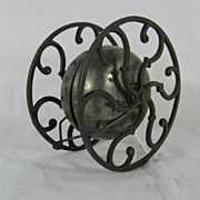 Victorian cast iron bell pull toy