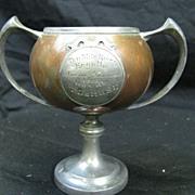 Antique Ten Mile River Regatta Trophy 1910
