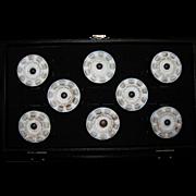 Rare Antique Set Clam Broth Drawer Pulls