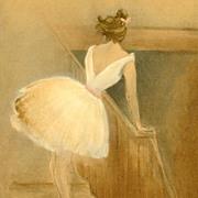 Rare French 'Ballet Dancer' L'Estampe Moderne Lithograph 1897.