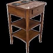 French Louis XV Style Rafraichissoir or Side Table
