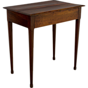 19th c. French Directoire Side Table