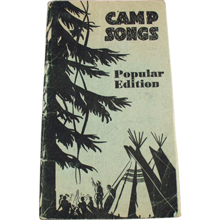 Old Camp Songs Booklet - Perfect for a Family Camping Trip or Scout Outing