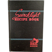 Old, Household Searchlight Recipe Book - 1944