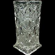 Old, Glass, Straw Holder - Illinois Pattern