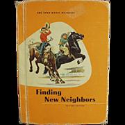 1961 School Book - Finding New Neighbors