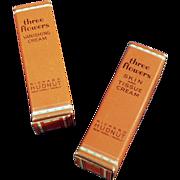 Old, Richard Hudnut, Three Flowers, Miniature Boxes