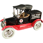 Texaco #5, Ford Runabout, Bank - Ertl Die Cast 1988